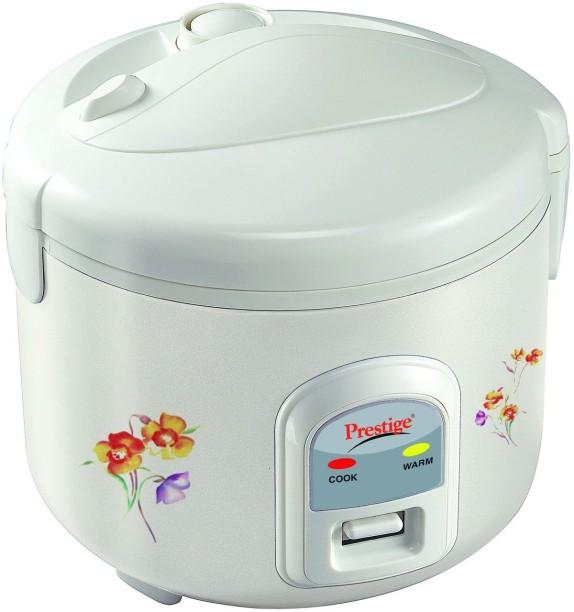 Prestige PRWCS 1.2 L Rice Cooker (White)