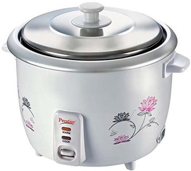 Prestige PRWO 1.8 L Rice Cooker (White)