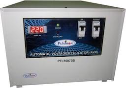 Pulstron PTI-10070B 10 KVA Automatic Voltage Stabilizer (Grey)