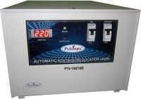 Pulstron PTI-10070B 10 KVA Automatic Voltage Stabilizer (Grey)