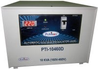 Pulstron PTI-10460D 10 KVA Automatic Voltage Stabilizer (Grey)