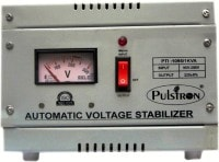 Pulstron PTI-1095 1 KVA Voltage Stabilizer (Grey)
