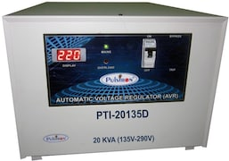Pulstron PTI-20135D 20 KVA Automatic Voltage Stabilizer (Grey)