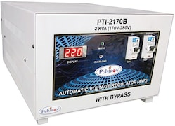 Pulstron PTI-2170B 2 KVA Automatic Voltage Stabilizer (Grey)