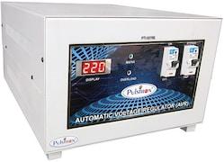 Pulstron PTI-5070B 5 KVA Automatic Voltage Stabilizer (White)