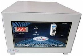 Pulstron PTI-5095D 5 KVA Automatic Voltage Stabilizer (Grey)