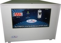 Pulstron PTI-8095D 8 KVA Voltage Stabilizer (White)