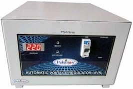 Pulstron PTI-C5520D 5 KVA Automatic Voltage Stabilizer (Grey)