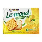 Julies Puff Sandwich Cheddar Cheese Cream Biscuits (Lemon, 170GM)