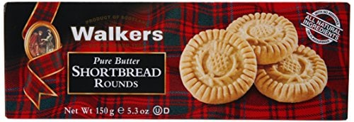 Walkers Pure Butter Shortbread Rounds Biscuits (150GM)
