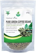 Herbal Vibe Pure Green Beans Coffee (Green Coffee, 200GM)