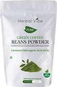 Herbal Vibe Pure Green Beans Powder Coffee (Green Coffee, 100GM)