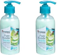 Himalaya Pure Hands Tulsi and Aloe Moisturizing Hand Wash (250ML, Pack of 2)