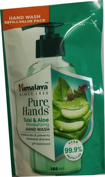 Himalaya Pure Hands Tulsi and Aloe Moisturizing Hand Wash (185ML)