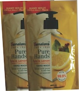 Himalaya Pure Hands Tulsi and Lemon Deep Cleansing Hand Wash (185ML, Pack of 2)