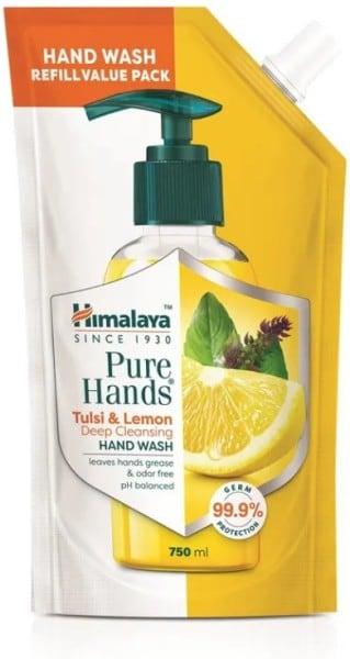 Himalaya Pure Hands Tulsi and Lemon Deep Cleansing Hand Wash (750ML)