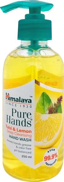 Himalaya Pure Hands Tulsi and Lemon Deep Cleansing Hand Wash (Tulsi and Lemon, 250ML)