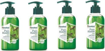 Himalaya Pure Hands Tulsi Purifying Hand Wash (Tulsi, 250ML, Pack of 4)