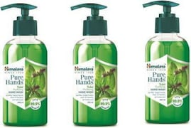 Himalaya Pure Hands Tulsi Purifying Hand Wash (Tulsi, 250ML, Pack of 3)