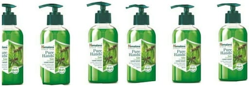 Himalaya Pure Hands Tulsi Purifying Hand Wash (Tulsi, 250ML, Pack of 6)