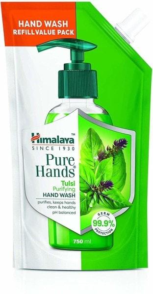 Himalaya Pure Hands Tulsi Purifying Hand Wash (750ML)