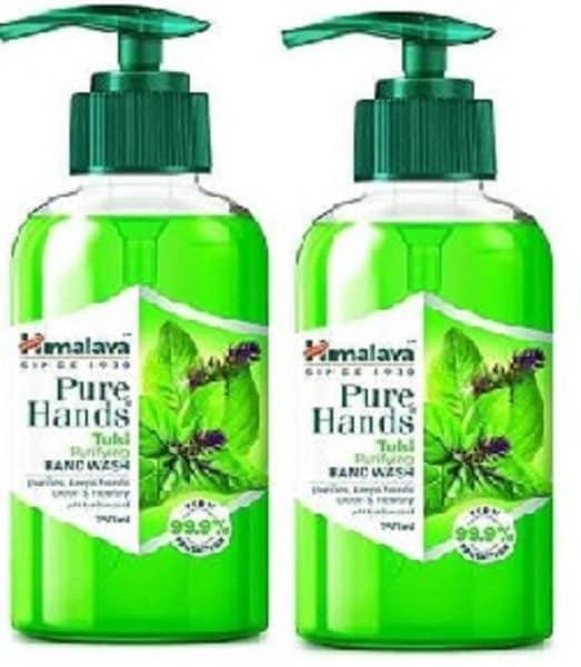 Himalaya Pure Hands Tulsi Purifying Hand Wash (250ML, Pack of 2)