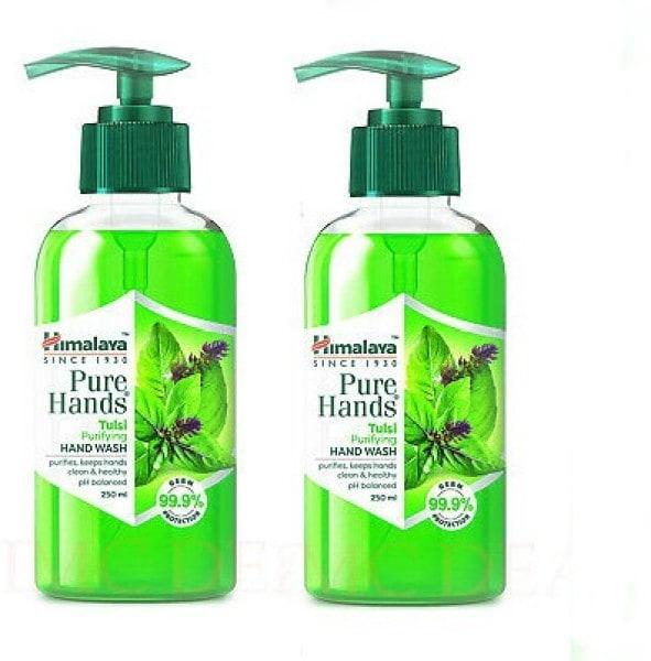 Himalaya Pure Hands Tulsi Purifying Hand Wash (Tulsi, 250ML, Pack of 2)