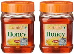 Patanjali Pure Honey (250GM, Pack Of 2)