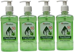 Himalaya PureHands Green Apple Hand Sanitizer (500ML, Pack of 4)