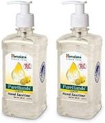 Himalaya PureHands Lemon Hand Sanitizer (Lemon, 500ML, Pack of 2)