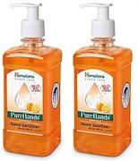 Himalaya PureHands Orange Hand Sanitizer (500ML, Pack of 2)