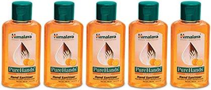 Himalaya PureHands Orange Hand Sanitizer (100ML, Pack of 5)