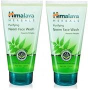 Himalaya Purifying Neem Face Wash (300ML, Pack of 2)