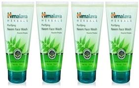 Himalaya Purifying Neem Face Wash (200ML, Pack of 4)
