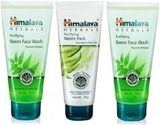 Himalaya Purifying Neem Face Wash (50ML, Pack of 3)