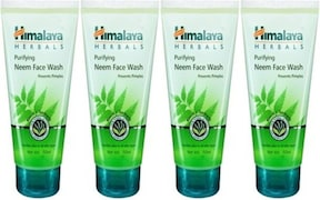 Himalaya Purifying Neem Face Wash (50ML, Pack of 4)