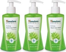 Himalaya Purifying Neem Face Wash (600ML, Pack of 3)
