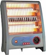 Usha QH 3002 Halogen Room Heater (Grey)