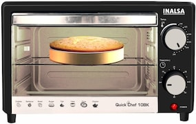 Inalsa Quick Chef 10BK 10 L Oven Toaster Grill (Black)