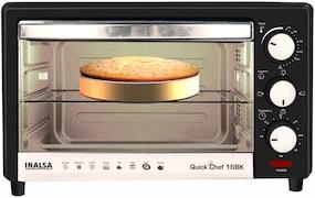 Inalsa Quick Chef 16BK 16 L Oven Toaster Grill (Black)