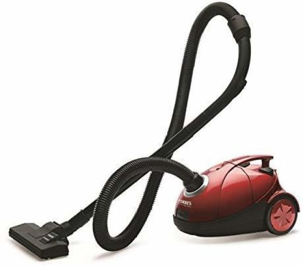 Eureka Forbes Quick Clean DX Dry Vacuum Cleaner (Black & Red)