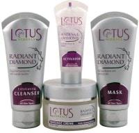 Lotus Herbals Radiant Diamond Facial Kit (170GM, Pack of 4)