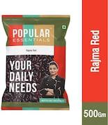 Popular Essentials Rajma (Red, 500GM)