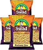 Swad Ratlami Sev Namkeen (6.4KG, Pack of 4)