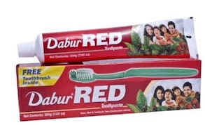 Dabur Red Toothpaste (300GM, Pack of 2)