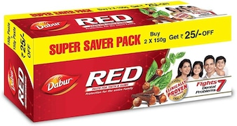 Dabur Red Toothpaste (300GM)