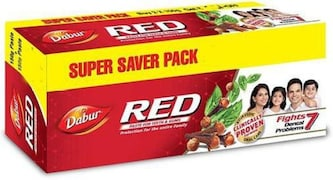 Dabur Red Toothpaste (150GM, Pack of 2)