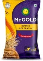 Mr. Gold Refined Rice Bran Oil (1LTR)