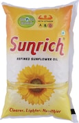 Sunrich Refined Sunflower Oil (1LTR)