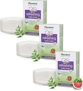Himalaya Refreshing Baby Soap (125GM, Pack of 3)
